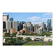 Calgary Cityscape Postcards (Package of 8)