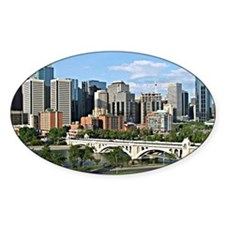Calgary Cityscape Decal