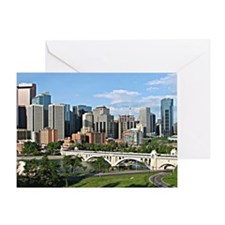 Calgary Cityscape Greeting Card