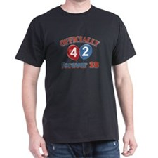 Officially 42 forever 18 T-Shirt