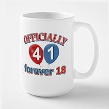 Officially 41 forever 18 Mug