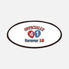 Officially 41 forever 18 Patches