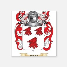 Todd Family Crest (Coat of Arms) Sticker