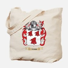 Todd Family Crest (Coat of Arms) Tote Bag