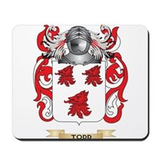 Todd Family Crest (Coat of Arms) Mousepad