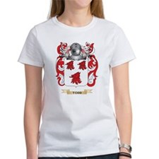 Todd Family Crest (Coat of Arms) T-Shirt