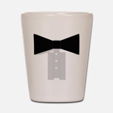 Black Tie Tuxedo Shot Glass