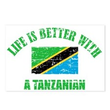 Life is better with a Tanzanian Postcards (Package