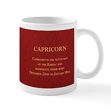 Capricorn Historical Mugs