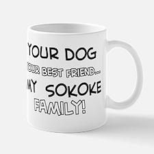 My sokoke Cat is Family Mug