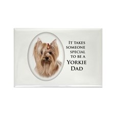 Yorkie Dad Magnets