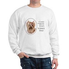 Yorkie Dad Sweatshirt