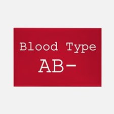 Blood Type AB- Magnets