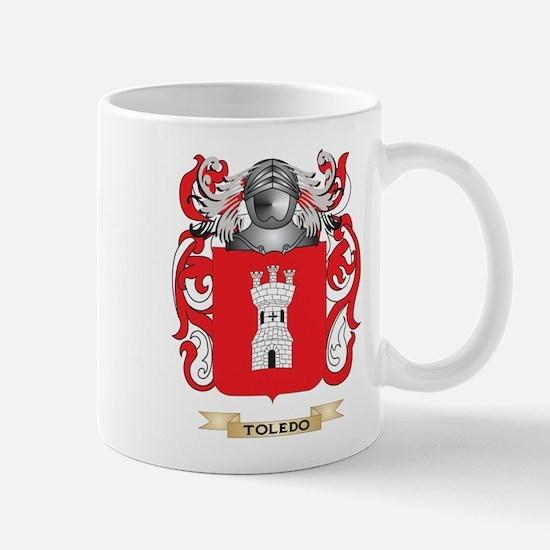 Toledo Family Crest (Coat of Arms) Mugs