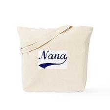 Vintage (Blue) Nana Tote Bag