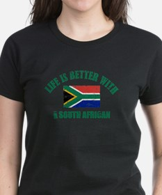Life is better with a South African Tee