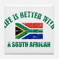 Life is better with a South African Tile Coaster