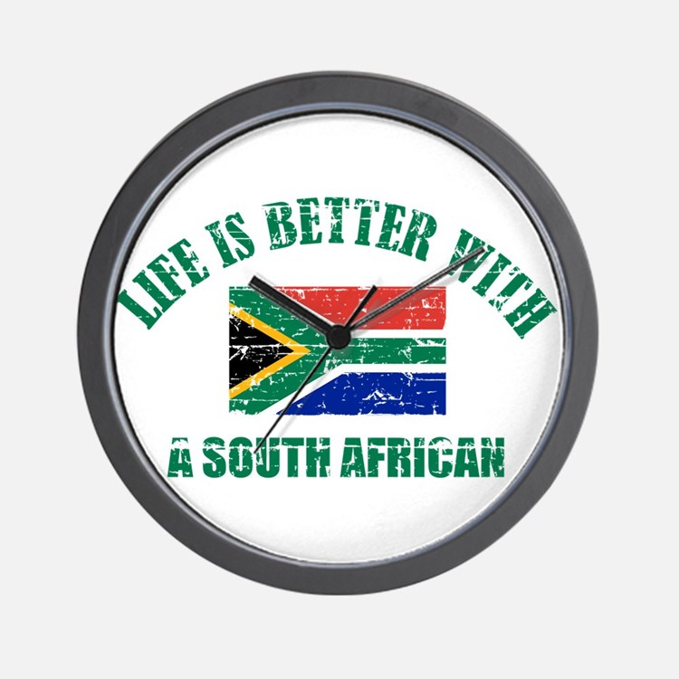 Life is better with a South African Wall Clock