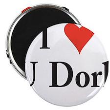"""I Love U Dork 2.25"""" Magnet (10 pack)"""