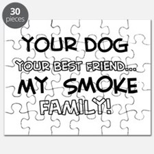 My smoke Cat is Family Puzzle