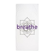 purplebreathe.png Beach Towel