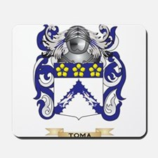 Toma Family Crest (Coat of Arms) Mousepad