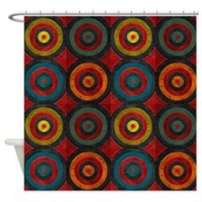 Concentric Sets Shower Curtain
