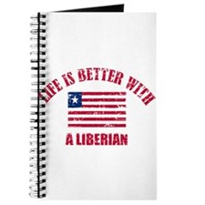 Life is better with a Liberian Journal