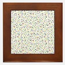 Confetti Falling Framed Tile