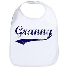 Vintage (Blue) Granny Bib