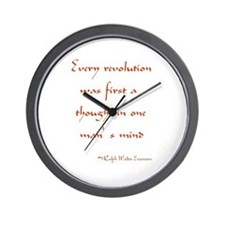 Every Revolution Wall Clock