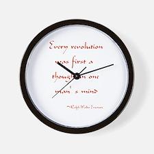Every Revolution Wall Clock