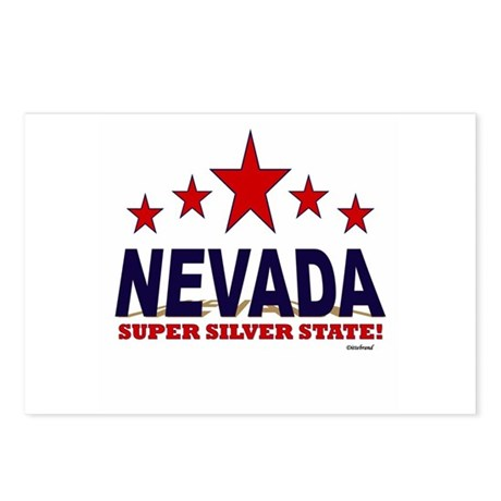 Nevada Super Silver State Postcards (Package of 8)