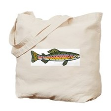 Trout (Front) Tote Bag