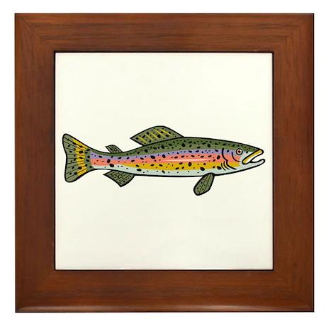 Trout Framed Tile