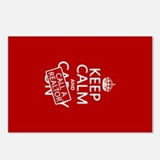 Keep Calm and Call A Realtor Postcards (Package of
