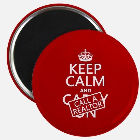 Keep Calm and Call A Realtor Magnet