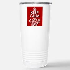 Keep Calm and Call A Realtor Travel Mug