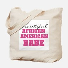 African American Babe Tote Bag