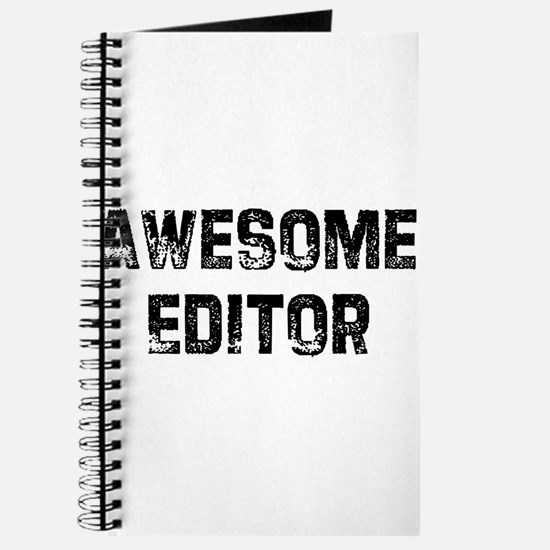 Awesome Editor Journal