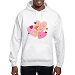 Cute Little Cupid Shooting Arrow Hooded Sweatshirt