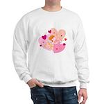 Cute Little Cupid Shooting Arrow Sweatshirt