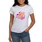 Cute Little Cupid Shooting Arrow Women's T-Shirt