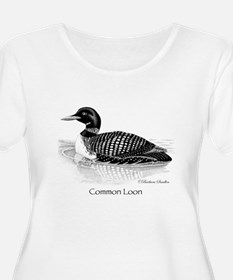 Common Loon Plus Size T-Shirt