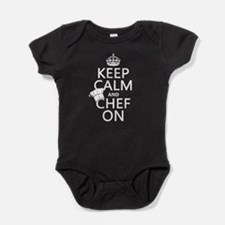 Keep Calm and Chef On Baby Bodysuit