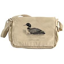 Common Loon Messenger Bag