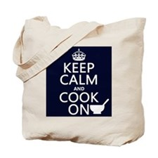 Keep Calm and Cook On Tote Bag