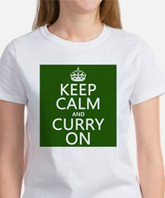 Keep Calm and Curry On Women's T-Shirt