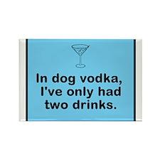 in dog vodka Magnets