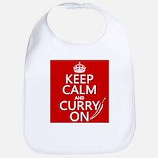 Keep Calm and Curry On Bib